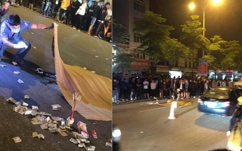 Thiếu niên 17 tuổi cầm lái bốc đầu, nam thanh niên 19 tuổi ngồi sau tử vong
