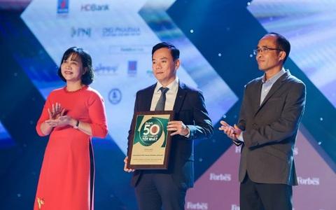 Vietcombank được Forbes bình chọn trong top 50 Công ty niêm yết tốt nhất Việt Nam