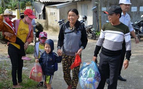 Quảng Ngãi: Đang di dời hàng chục ngàn người dân tránh bão số 9