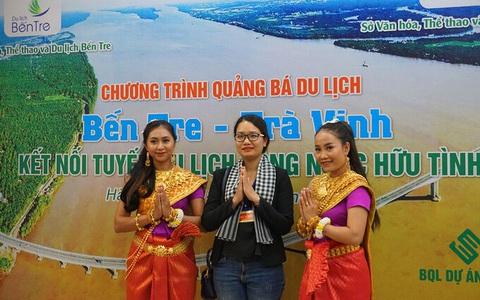 """Trà Vinh, Bến Tre thúc đẩy """"Kết nối tuyến du lịch sông nước hữu tình"""""""