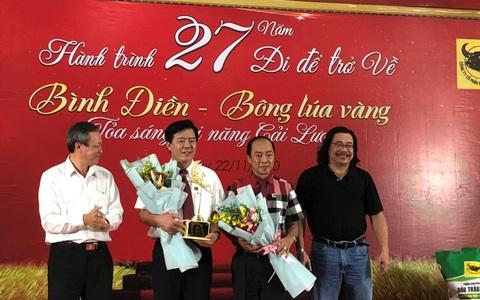 """Bình Điền - Bông lúa vàng: Hành trình 27 năm """"Đi để trở về"""""""