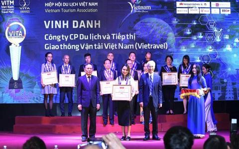 Vietravel nhận 4 giải thưởng quan trọng trong khuôn khổ Hội chợ du lịch VITM 2020