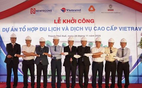 """Vietravel khởi công dự án """"Tổ hợp du lịch và dịch vụ cao cấp"""" tại Huế"""