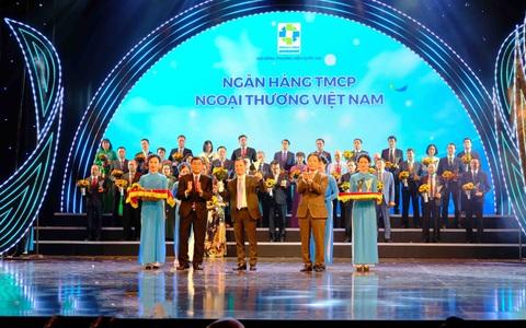 Vietcombank 7 lần liên tiếp được vinh danh Thương hiệu Quốc gia