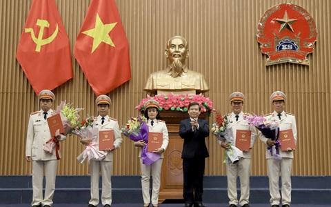 Công bố quyết định của Chủ tịch nước Nguyễn Phú Trọng về công tác cán bộ