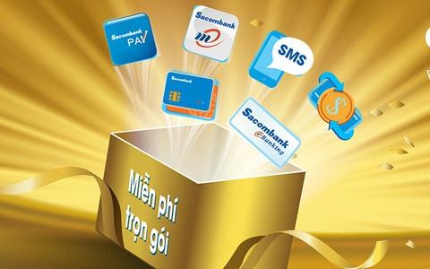 Nhiều tiện ích với 3 combo tài khoản của Sacombank
