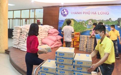 Vinasoy trao 1 triệu hộp sữa đậu nành đến 35 cơ sở cách ly
