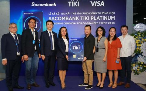 Hoàn tiền 15% cho chủ thẻ đồng thương hiệu Sacombank Tiki Platinum