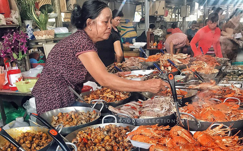 Chợ Hàng Dương và những thiên đường hải sản tươi ngon ở TP HCM