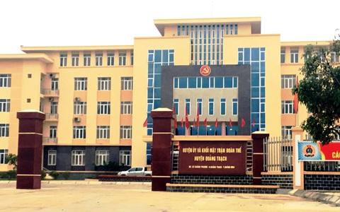 Quảng Bình: Lý do 1 chủ tịch Ủy ban mặt trận huyện bị đề nghị kỷ luật?