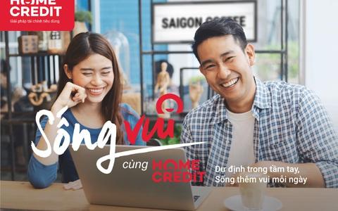"""Home Credit lan tỏa thông điệp """"Sống vui"""" đến hàng triệu khách hàng"""