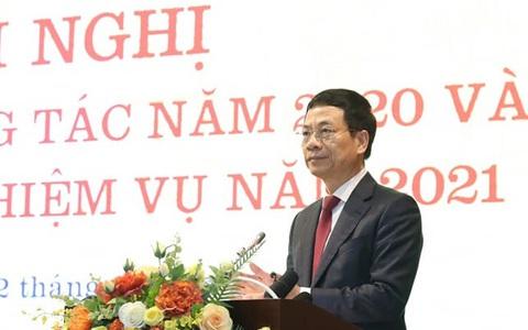 Bộ trưởng Nguyễn Mạnh Hùng: Sứ mệnh lớn lao chưa bao giờ có của ngành thông tin - truyền thông