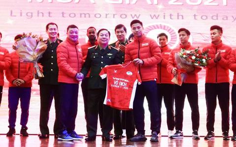 Bùi Tiến Dũng đặt mục tiêu giữ vững ngôi vương V-League