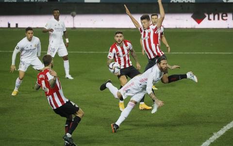 Thua thảm Bilbao, Real Madrid bị loại ở bán kết Siêu cúp Tây Ban Nha