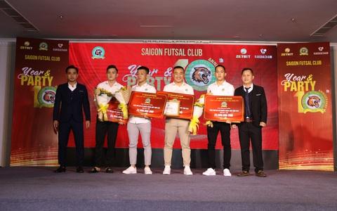 Zetbit Sài Gòn FC đặt mục tiêu top 3 giải futsal VĐQG