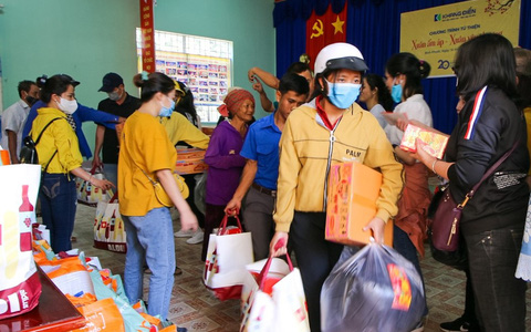 Khang Điền mang xuân yêu thương đến người dân xã An Khương, Bình Phước