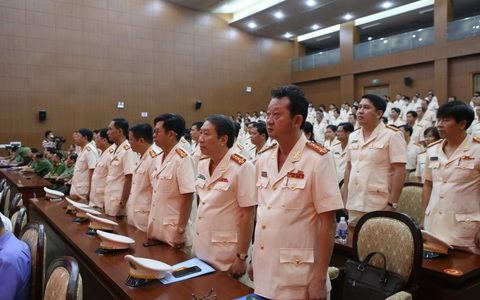 Đại tá Nguyễn Hoàng Thắng giữ chức trưởng Công an TP Thủ Đức