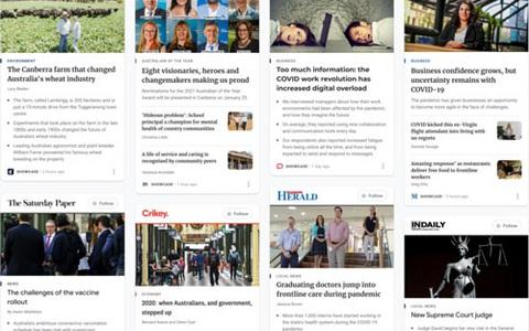Nóng bỏng cuộc chiến bản quyền tin tức