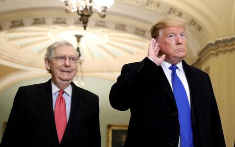 Lãnh đạo phe Cộng hòa tại thượng viện lại đổi ý về ông Trump?