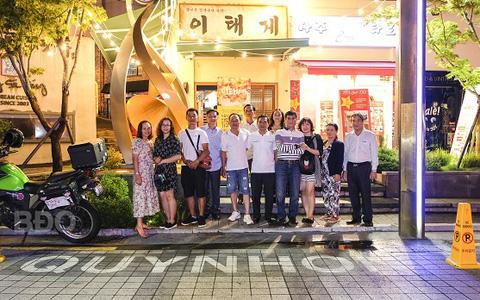 Phố Quy Nhơn - Việt Nam giữa lòng thủ đô Seoul của Hàn Quốc