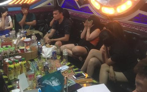 Phát hiện 32 người dương tính với ma túy tại karaoke Red Diamond