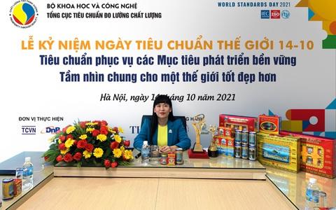 Sanvinest Khánh Hòa nhận giải Chất lượng Châu Á - Thái Bình Dương và Thương hiệu mạnh Việt Nam 2021