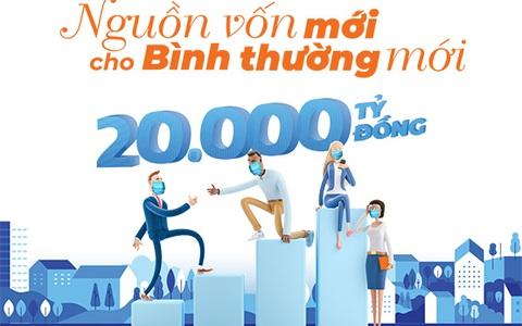 Sacombank tiếp thêm nguồn vốn ưu đãi 20.000 tỉ đồng