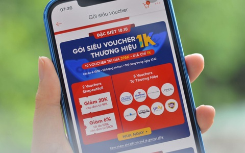 """Săn hàng chính hãng giá siêu ưu đãi trong """"10.10 Siêu Sale Chính Hãng"""" trên Shopee"""