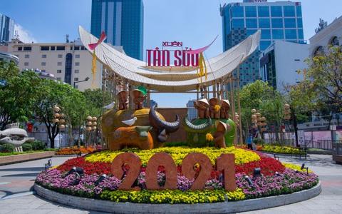 Tìm ý tưởng thiết kế mới cho Đường hoa Nguyễn Huệ - Tết Nhâm Dần 2022