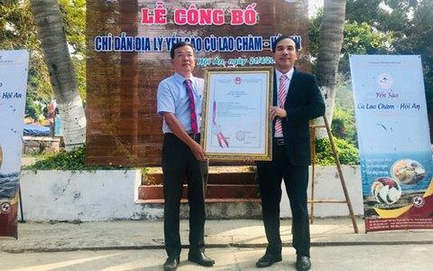 Công bố chỉ dẫn địa lý cho yến sào Cù Lao Chàm
