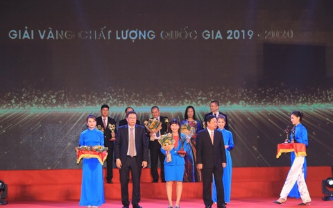 Sanvinest Khánh Hòa được tôn vinh Giải Vàng Chất lượng Quốc gia