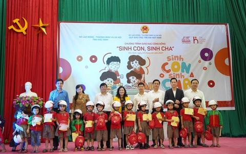 """Chương trình giáo dục cộng đồng """"Sinh Con, Sinh Cha"""" đến Bắc Ninh"""