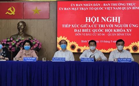 """TP HCM: Cử tri mong ứng cử viên """"đừng để hết nhiệm kỳ còn mắc nợ dân"""""""
