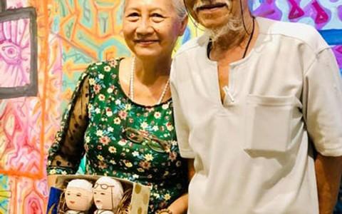 Dấu ấn sáng tạo của vợ chồng họa sĩ Lê Triều Điển - Hồng Lĩnh