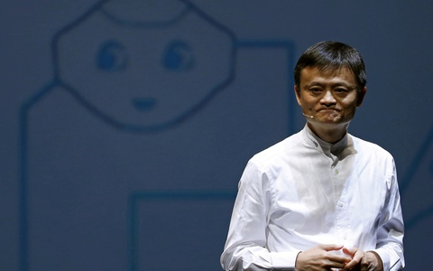 Tỉ phú Jack Ma bất ngờ đến trụ sở Alibaba