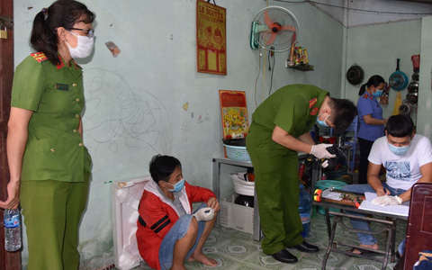 CLIP: Công an Tiền Giang liên tiếp trấn áp tội phạm ma túy