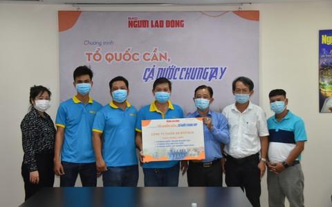 """Công ty Thiên An Biotech đóng góp Chương trình """"Tổ quốc cần, cả nước chung tay"""""""
