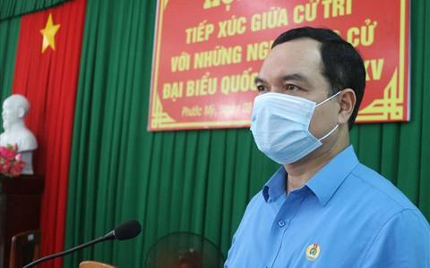 Ông Nguyễn Đình Khang: Sẽ phấn đấu làm việc với tinh thần trách nhiệm cao nhất