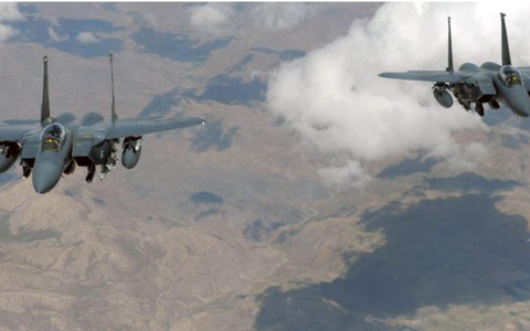Mỹ mở các cuộc không kích mới vào Taliban