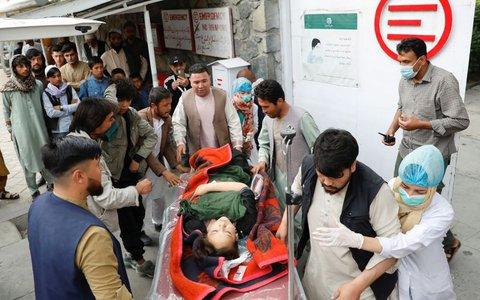 """Hơn 200 người thương vong vì vụ tấn công """"nhằm vào tương lai Afghanistan"""""""