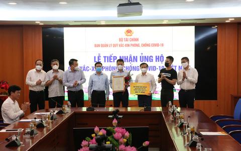 Sun Group góp 320 tỉ đồng cho Quỹ vắc-xin, nâng tổng số tiền ủng hộ qua các đợt dịch lên gần 510 tỉ đồng