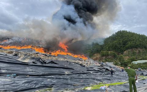 Hé lộ nguyên nhân vụ cháy tại bãi rác lớn nhất TP Đà Nẵng