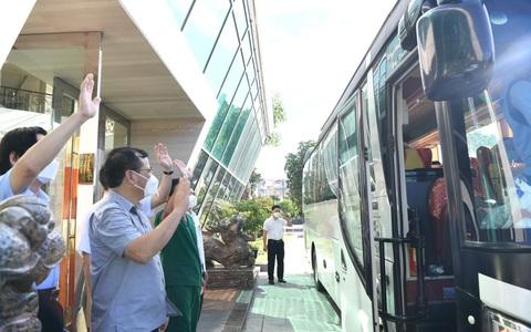Đội phản ứng nhanh Bệnh viện Chợ Rẫy rời Bắc Giang về TP HCM