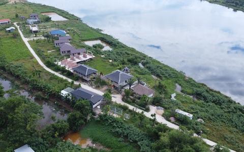 Chủ dự án Go Green Farm xây gần 20 căn nhà không phép
