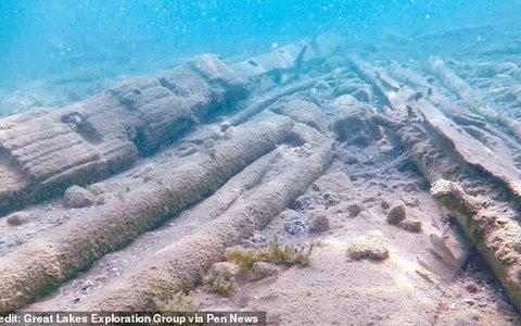 """Mỹ: Tìm thấy con tàu bị """"nguyền rủa"""" sau 350 năm mất tích"""