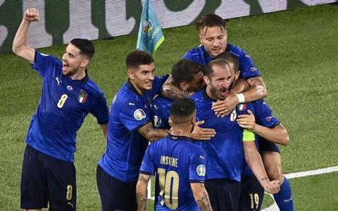 Vùi dập Thụy Sĩ 3-0, tuyển Ý lập đại công vòng bảng Euro