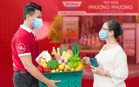 VinShop, VinID góp sức đưa nhu yếu phẩm đến tay người dân TP HCM