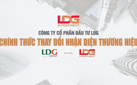 Công ty CP Đầu tư LDG chính thức thay đổi hệ thống nhận diện thương hiệu mới