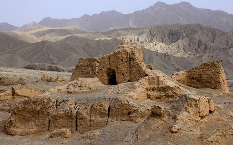 'Thành phố ma' lưu giữ di sản Con đường Tơ lụa