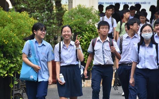 TP HCM: Công bố chỉ tiêu tuyển sinh lớp 10 tại 114 trường THPT công lập